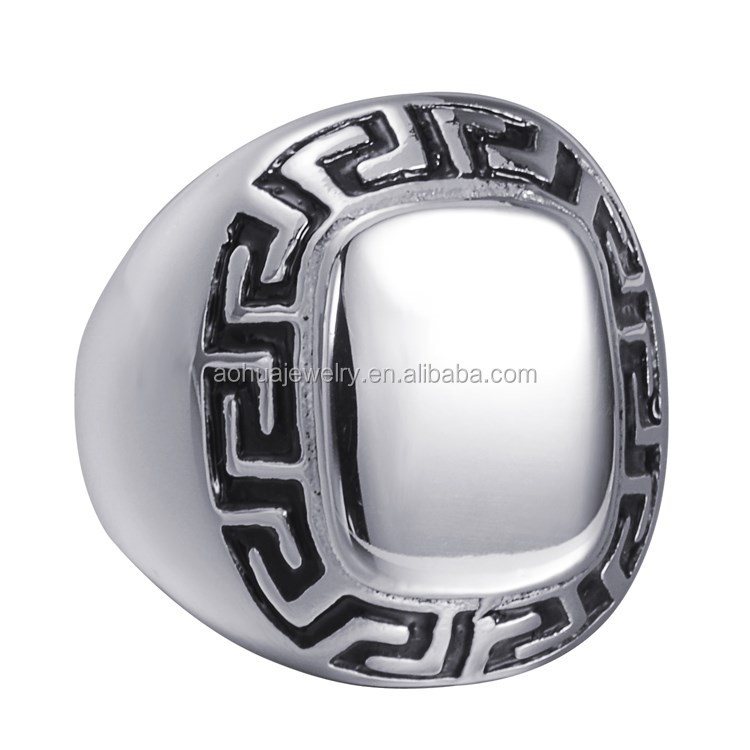 Mens stainless steel ring design your own stainless steel ring