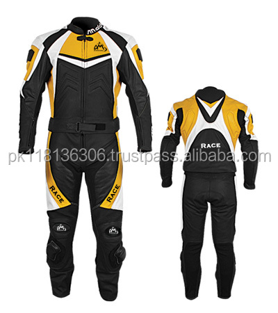MOTORBIKE,MOTORCYCLE LEATHER COMPLETE SUIT - CE APPROVED