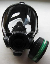 Police anti riot chemical Full face FF-A model GAS MASK with thigh bag