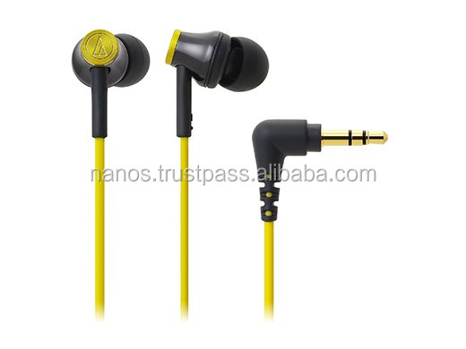 Audio Technica wired high quality earpiece with deep bass sound