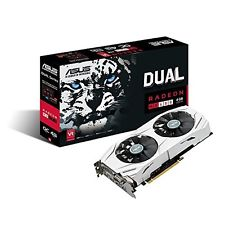 ASUS Dual-Fan Radeon Rx 480 4GB OC Edition AMD Gaming Graphics Card with DP