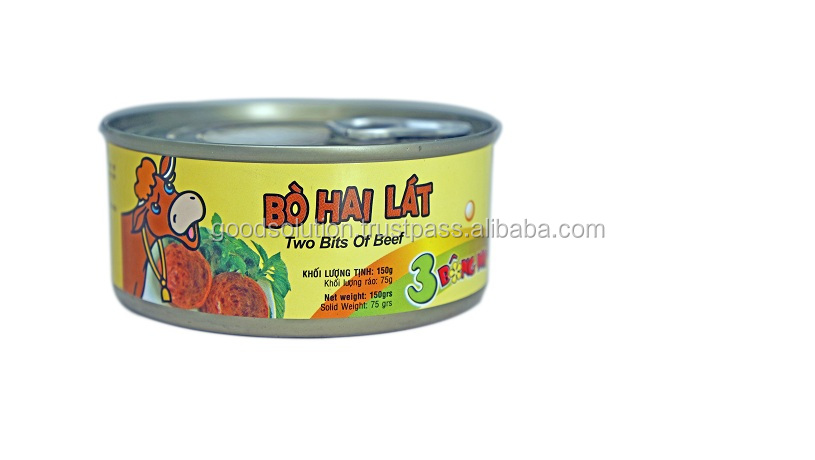 3 Bong Mai Two Bits Of Beef/Canned Meat