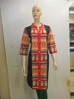 ethenic wear womens kurtis for new generation to look bold and beautifull