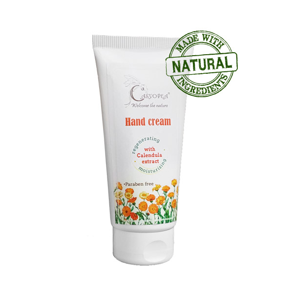 Hand cream with Calendula extract and Vitamin E