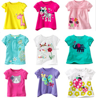Child garment beautiful girl dress with 100% cotton clothing hot selling