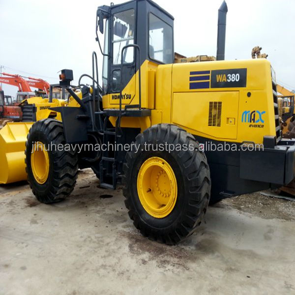 Loading equipment komatsu wa380-3 wheel loader
