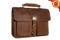 LUKE FASHION - Genuine leather best quality 15inch laptop handbag oemodm