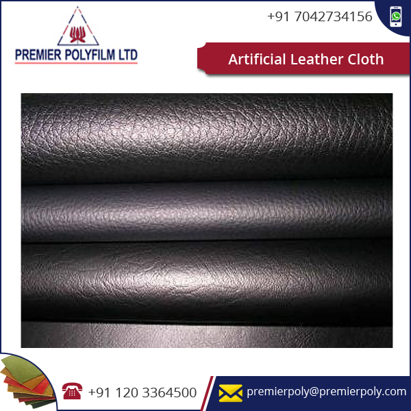 Fade and Stain Resistance PVC Leather Available from Well Known Supplying Company