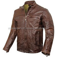Fashion Biker The Amazing Spider Man Leather Jacket/Men