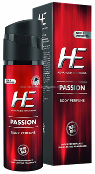 He Body Perfume, Passion, 122ml