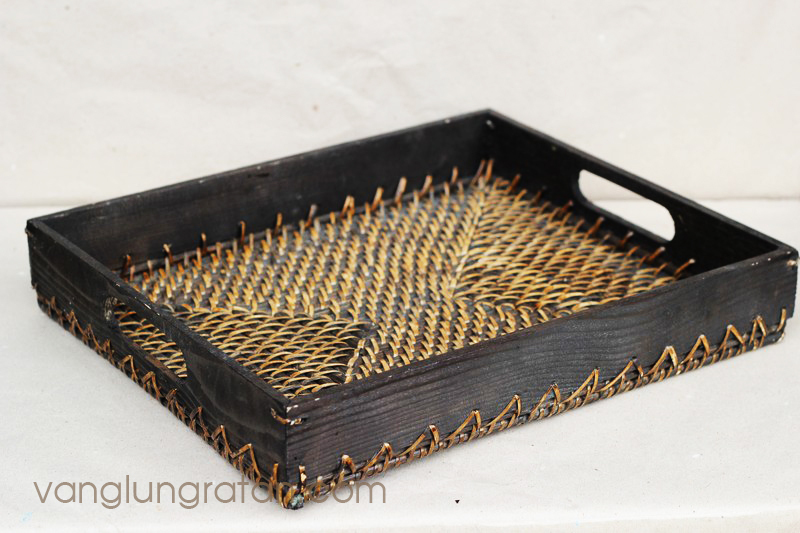 2015 Hot selling Bamboo rattan trays