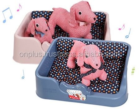 pet / dog cozy music bed