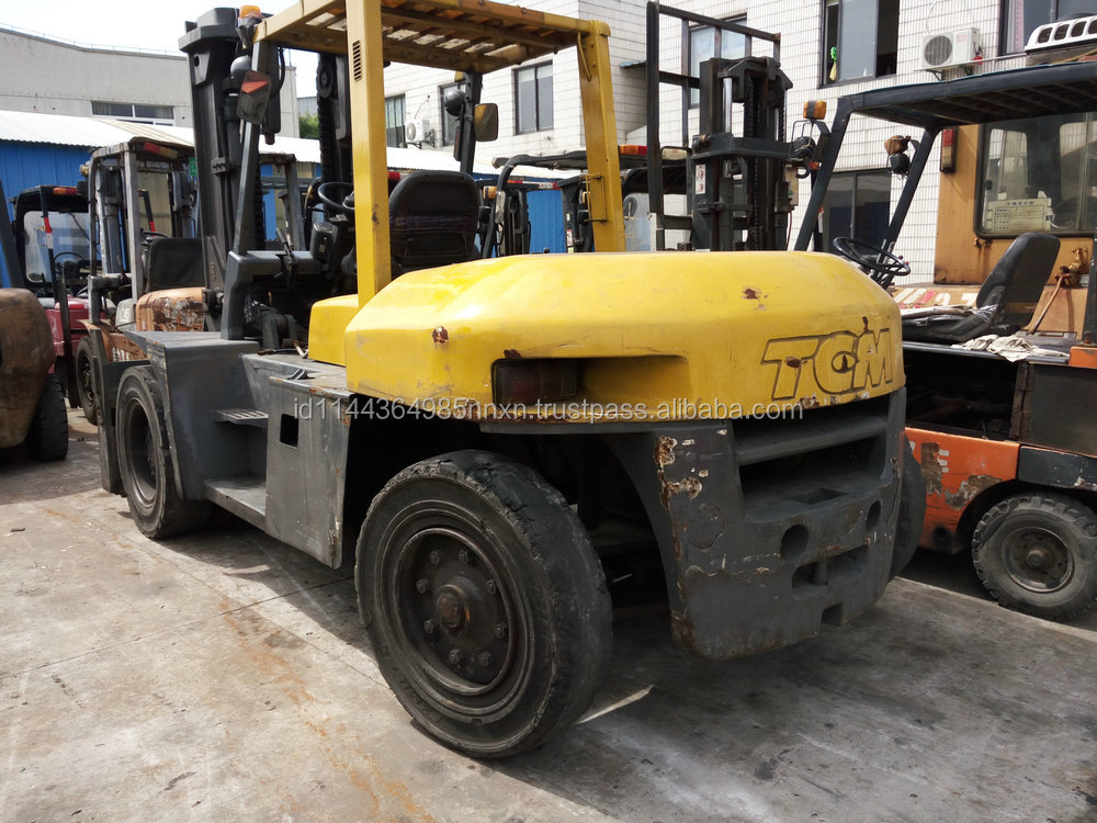 10 ton tcm used Forklift rolled just 2 years, with a cheaper and affordable