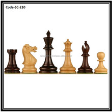British Staunton Hand Crafted Rosewood Executive Chess Pieces SC210
