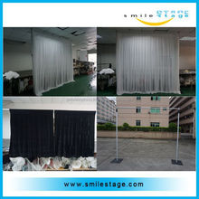 backdrop drapery upright pipe drape for exhibition