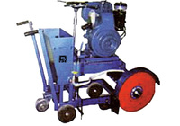 Asphalt & Concrete Floor Saw Machine