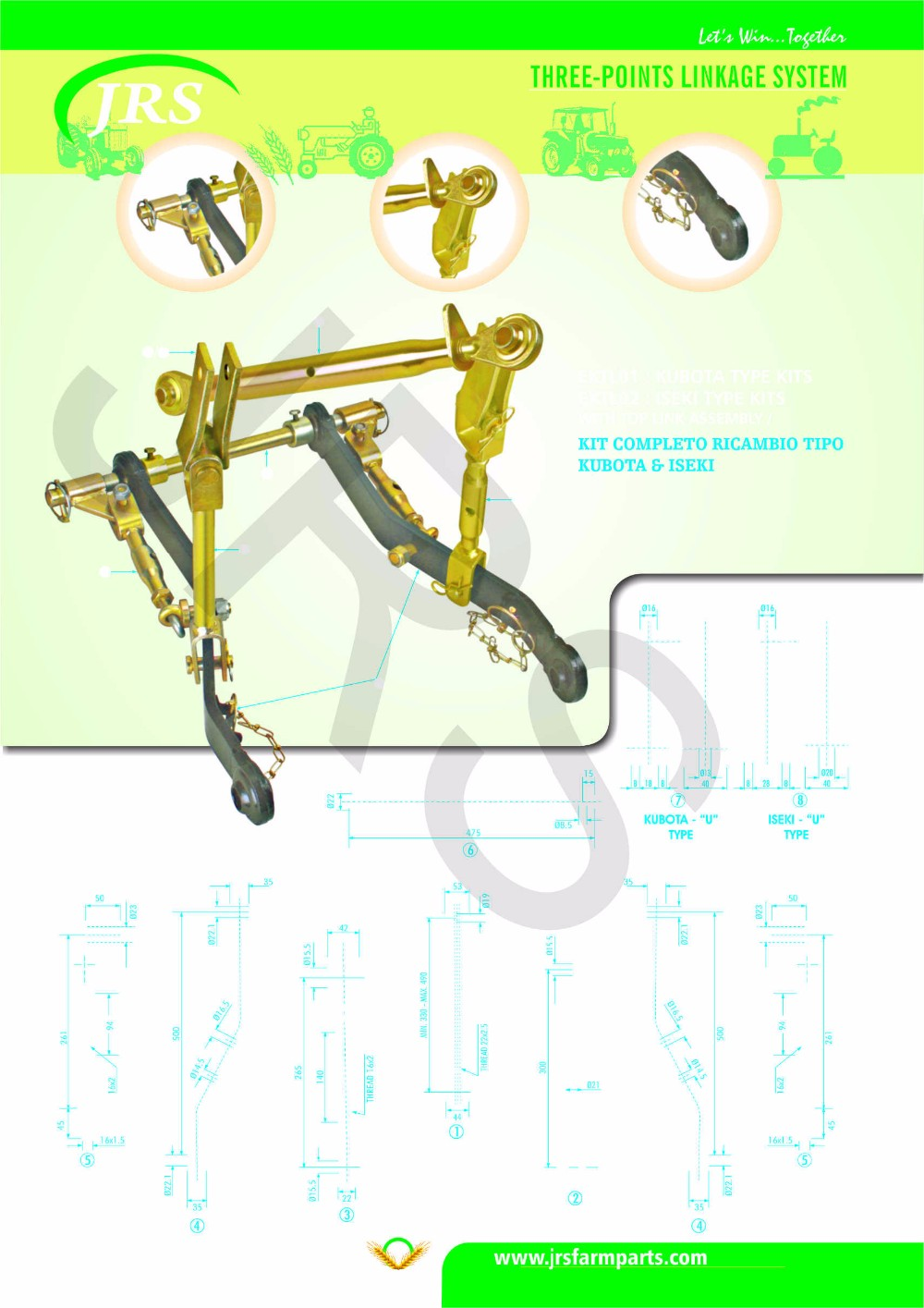Best Consistancy Product Company of Linkage kit