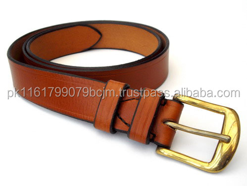 Custom Men Casual Sport Sued Dressy Golf Dresses Leather Belt