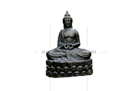 Outdoor Products Sitting Buddha Statues on Lotus stand