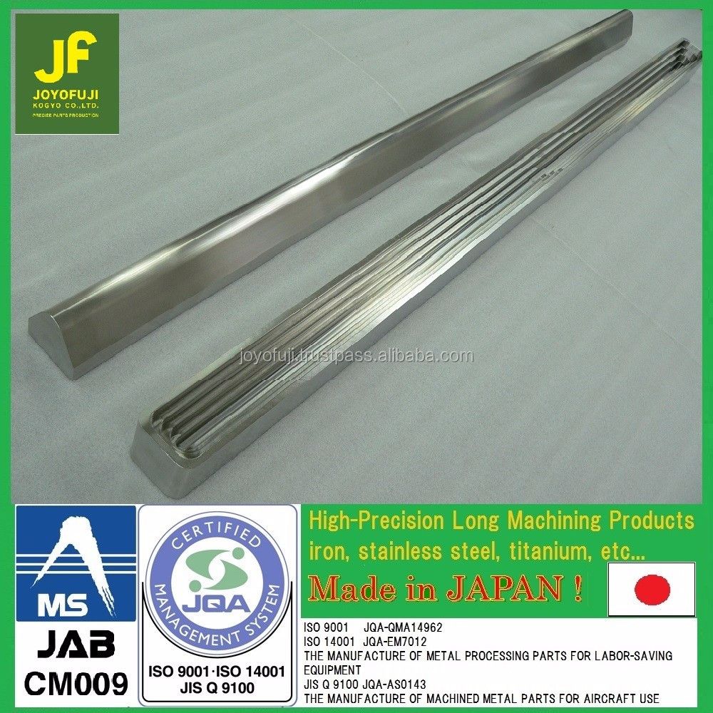 High quality and Accurate aluminiun holder by cnc machining with multiple functions made in Japan