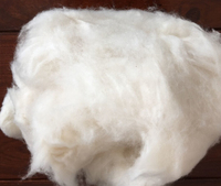 White Dehaired Cashmere fibers from China