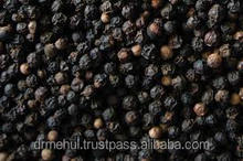 specification for black pepper