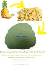 100% Dry Pineapple powder from Thailand