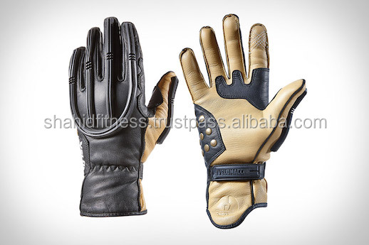 Cow Hide Motorbike Racing Gloves/Cow hide Leather Motorcycle Gloves