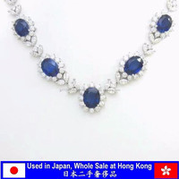 Second Hand Sapphire Necklace Fashion Jewellery