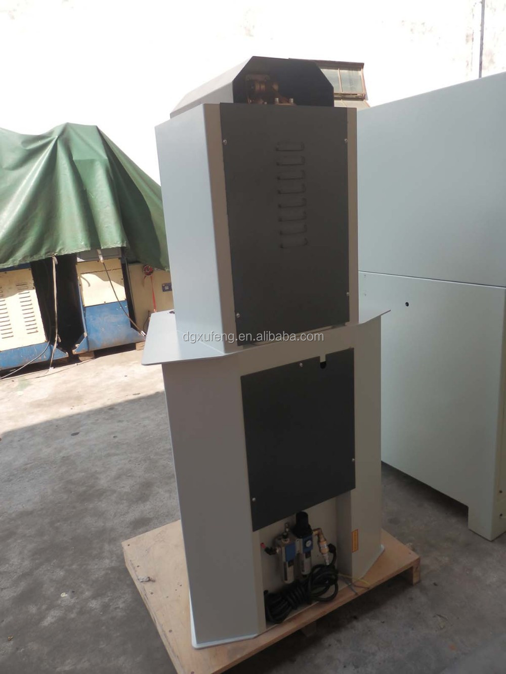 shoes manufacturing upper vamp shapping forming machine