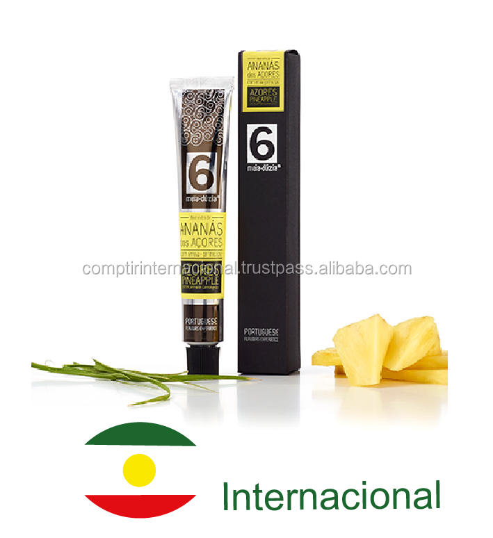 Jam in a tube - AZORES PINEAPPLE WITH LEMONGRASS - Portugal