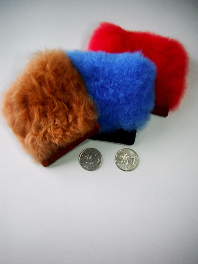 SUPER Baby Alpaca Fur Coin Purse Colored- Peruvian Alpaca Fur Coin- Best Seller- Wholesale Alpaca products from Peru