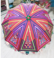 Fashionable and Good Embroidered Garden Umbrella