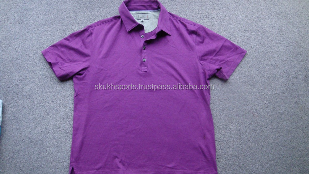 Custom Embroidered Logo High Quality Promotional Polo Shirt ,100%cotton Pique fabric