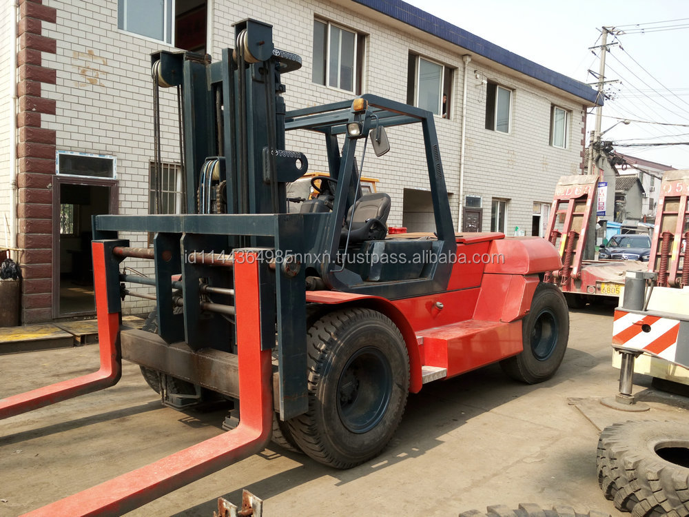 20 ton TOYOTA used forklift 5FDN200 Japan's original production for sale