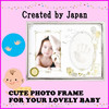 Durable and Fashionable love photo frame for baby registry at reasonable price