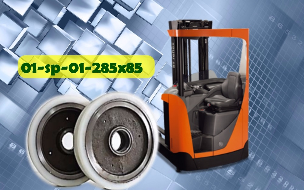 polyurethane tyres and wheels for lift truck 285x85