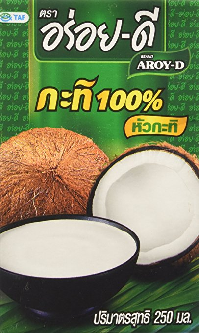 Aroy-D Coconut Milk 100% UHT 250 ML