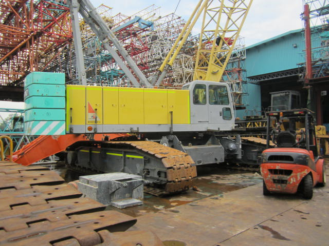Used Sumitomo Hitachi SCX1500-2 150 Tons Crawler Crane For Sale