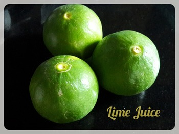 Lime Juice (Fresh and Frozen)