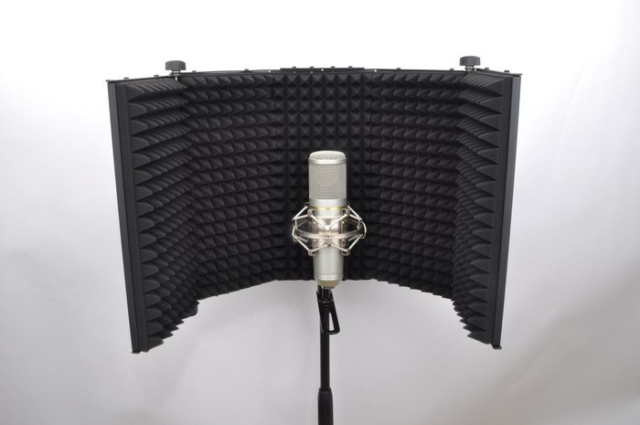 Microphone Vocal Recording Booth Reflection Filter RF-1