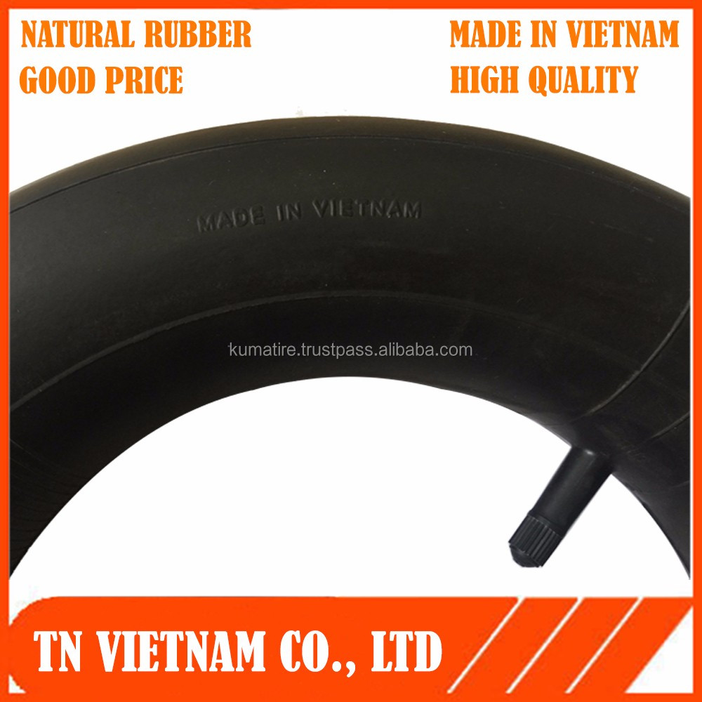 natural rubber inner tube - straight vavle vietnam 3.50/4.00 -8 with low price and top quality