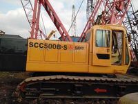 good china made used sany 50t crawler crane for sale in shanghai