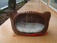 wicker cat bed - Skype: Ms.RICO.VietStyle