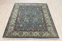 Oriental Persian High Quality Floor Hand Knotted Wool Carpet Rug 8x10' Indian Wholesale