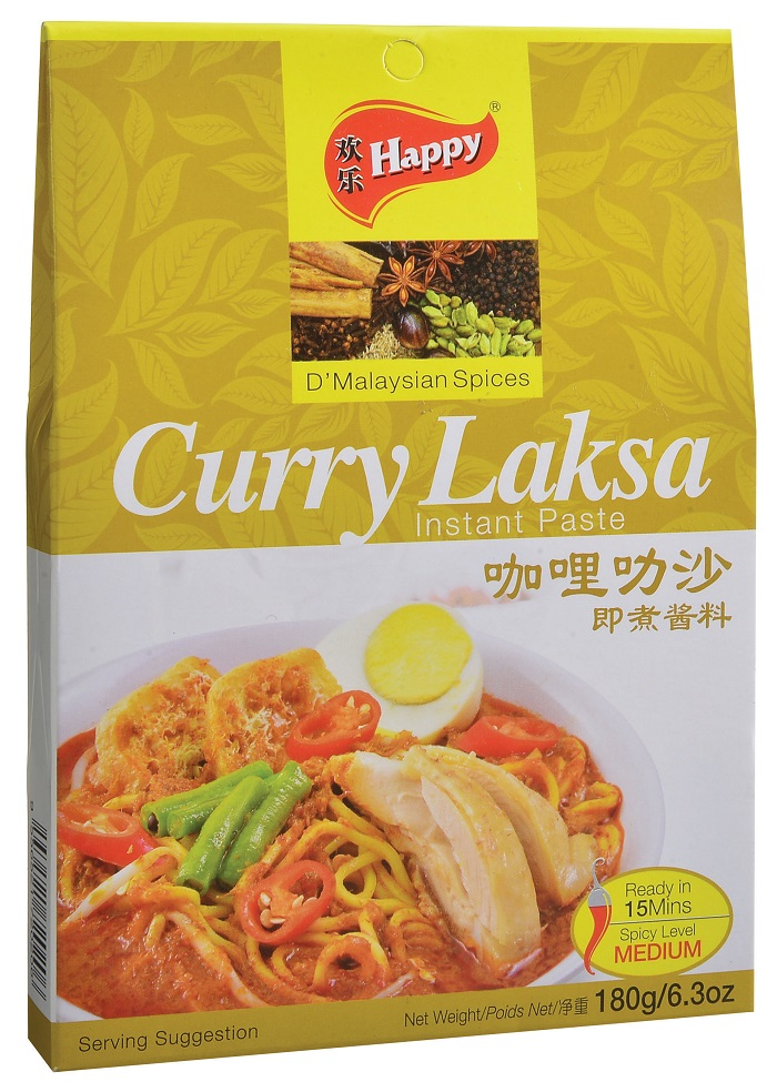 Happy Curry Laksa Instant Paste
