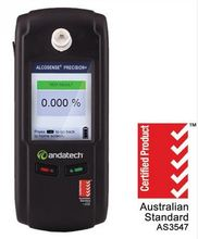 Andatech Precision+ Fuel Cell Breathalyser - Police Grade Breathalyzer / Alcohol Breath Tester