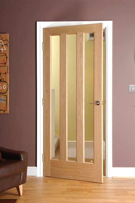 Oak Veneer 3 Lite Interior Glazed Door & Oak Veneer 3 Lite Interior Glazed Door View glazed door Forest ...