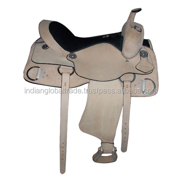 Hand made leather horse saddle | kanpur hand made leather horse saddle | western high quality leather horse saddle