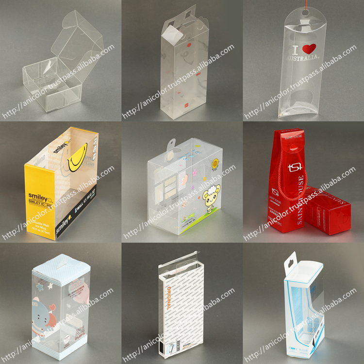 Customized PVC Packaging Box